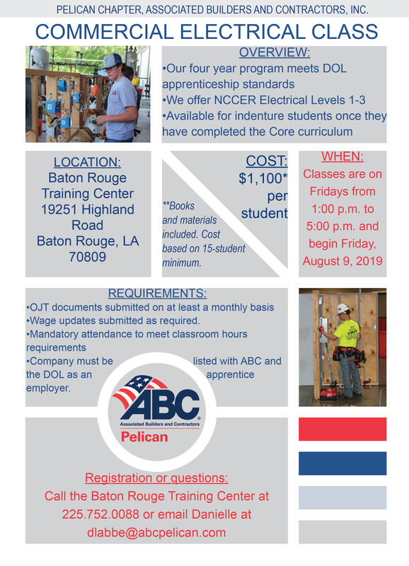 Baton Rouge Application - PELICAN CHAPTER, ABC