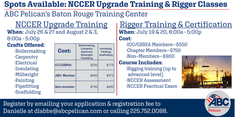 Testing Schedule & Fees - PELICAN CHAPTER, ABC